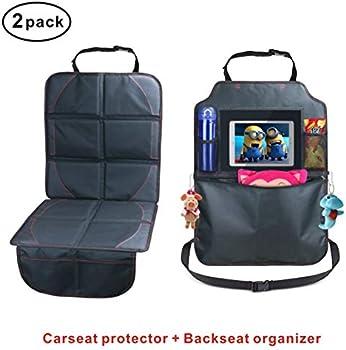 Idefair Waterproof Upholstery Car Seat Protector Kick Mat