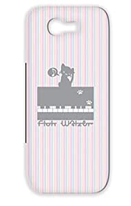 Floh Walzer Durable For Piano Performance Illustration Music Miscellaneous Music Sound Musical Piece Animal Keyboard Cat TPU Gray Case