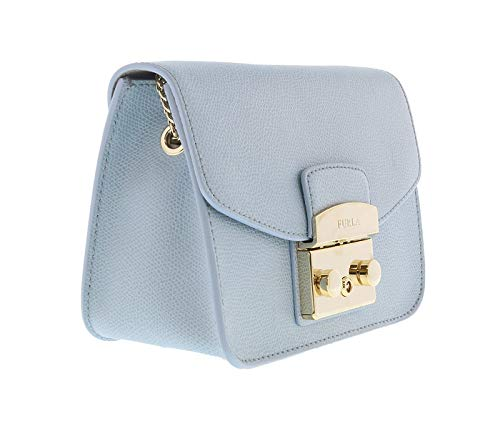 Furla Women's Metropolis Mini Cross Body Bag, Veronica, Blue, One Size