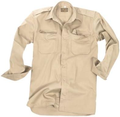 armyoutdoorshop Safari Camisa Army Desert Camisa Tropen Camisa Algodón XL: Amazon.es: Ropa y accesorios