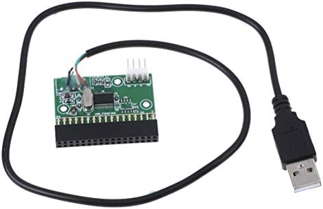 """34pin 1.44mb 3.5/"""" floppy connector to USB cable adapter PCB board"""