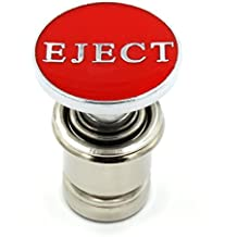 Eject Button Car Cigarette Lighter Replacement 12V Accessory Push Button Fits Most Automotive Vehicles (Red)
