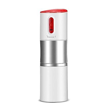 Jerome10Dan Máquina de café portátil, Mini máquina de café Recargable Máquina de café aislada eléctrica