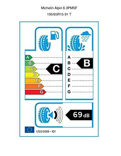Michelin 294295-195//65//R15 91T C//B//69dB Winterreifen PKW