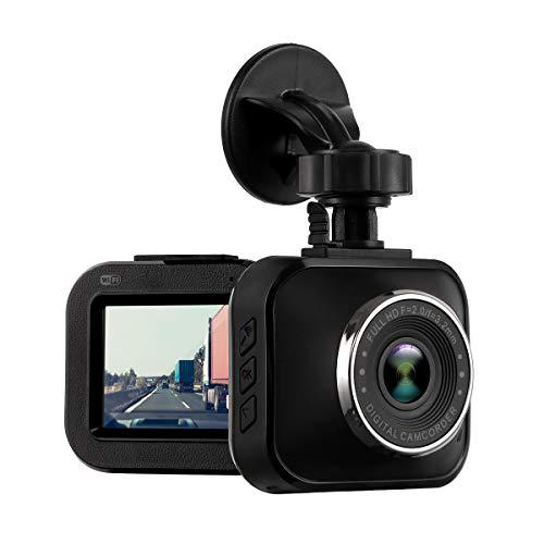Dash Cam 1080P Full HD Mini Car DVR Recorder WiFi 2.0