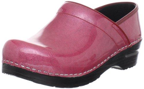 Sanita Pearl Professional Clog Pink Patent Women's rzqrTWO6Z