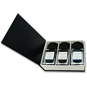 Pilot Iroshizuku Mini Fountain Pen Ink - 15 ml Bottle 3 Colors Set - TY/TAK/KO (Japan Import)