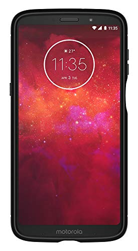 Spigen Rugged Armor Moto Z3 Play Case with Air Cushion Technology for Motorola Moto Z3 Play (2018) - Black by Spigen (Image #4)
