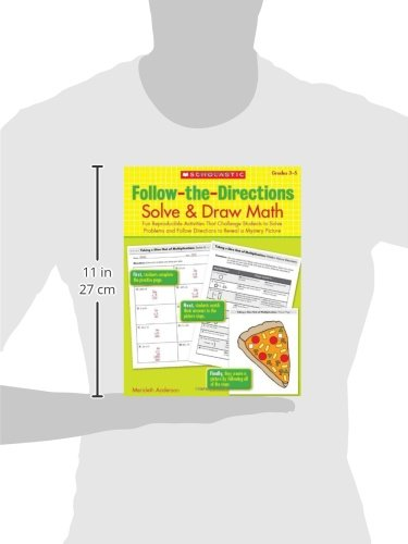 Amazon.com: Follow-the-Directions: Solve & Draw Math, Grades 3-5 ...