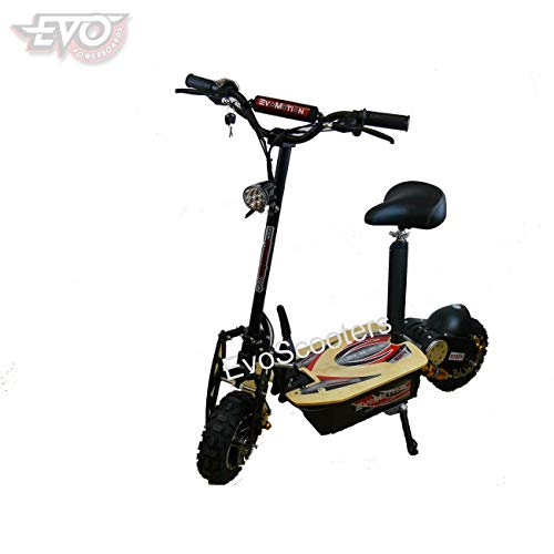 EVO Electric Scooter 2000W 60V 2019 Model All Terrain Tyres