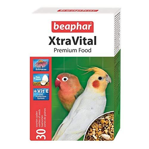 2X Beaphar XtraVital Cockatiel Large Parakeet Food 1kg