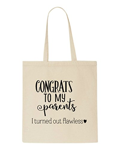 Tote Out Flawless Congrats Shopper Beige Statement I Bag Parents Turned My To nxUUXSqgw8