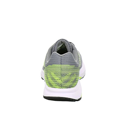 Pictures of NIKE Men's Air Zoom Span 2 908990 Grey/Black/Volt 2