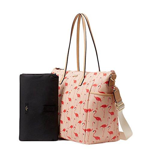 Kate Spade Shore Street Adaira Pink Flamingo Baby Tote Diaper Bag - Flamingo Kate Spade