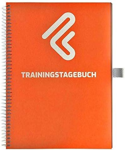 Trainingstagebuch DIN A5 für Home Gym, Krafttraining, Fitnessstudio, Bodybuilding & Cardio   132 Seiten