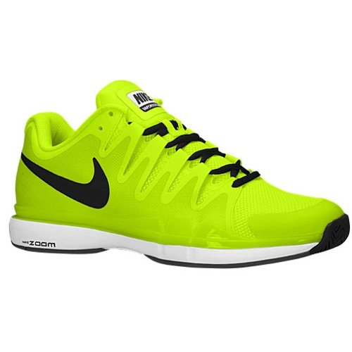 Nike Zoom Vapor 9.5 Tour Mens Tennis Shoes Yellow New In Box (13, VOLT/WHITE//BLACK) (Nike Zoom Vapor Shoes compare prices)
