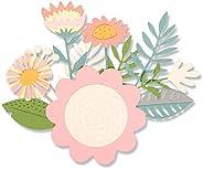 Sizzix Set de Troqueles Thinlits 15 pzas 663854, Trópicos florales de Sophie Guilar, Multicolor