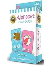 Fluffy Bear ED-1018 Alphabets Cards - Multi Color