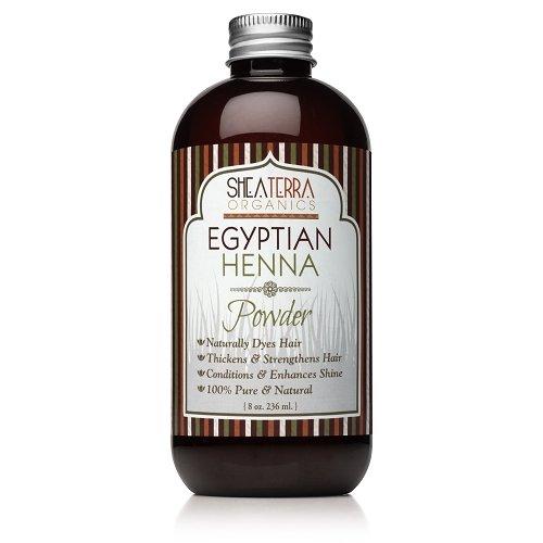 Shea Terra Hair Powder Egyptian Henna 8 Ounce -