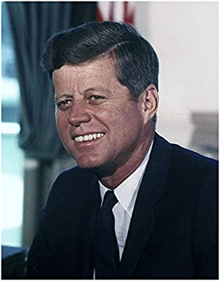 JOHN F. KENNEDY Official Presidential White House Photo