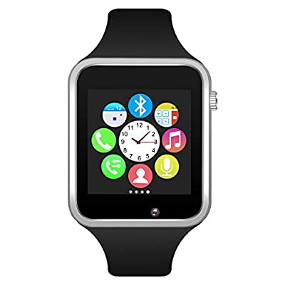 Padgene Bluetooth Smart Watch GSM Phone Watch with Camera for Samsung Nexus HTC Sony and Other Android Smartphones,