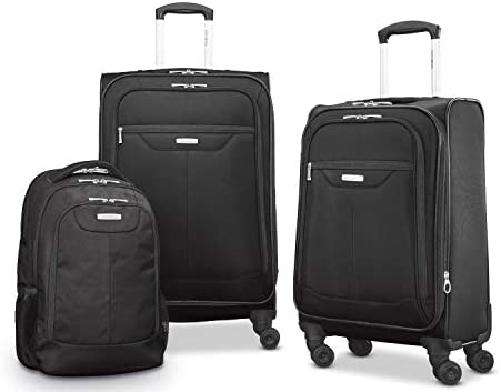 Samsonite Tenacity 3 Piece Set - Luggage - Black Color
