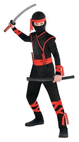 amscan Boys Shadow Ninja Costume - X-Large (14-16), Multicolor ()