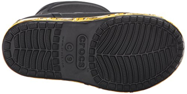 Crocs Bump It Batman Boot, Boys' Rain Boots, Black (Black 001), 2-3 UK ( 34/35 EU)