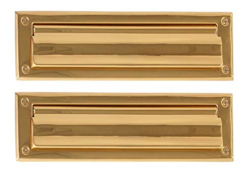 BRASS Accents A07-M0050-PVD Mail Slot, 3