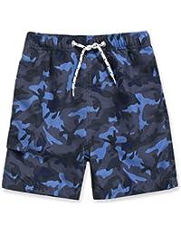 UV Protection Quick Dry Swim Trunk Board Shorts with Mesh Lining /& Drawstring VAENAIT BABY 6M-2T Infant Girls Boys UPF 50