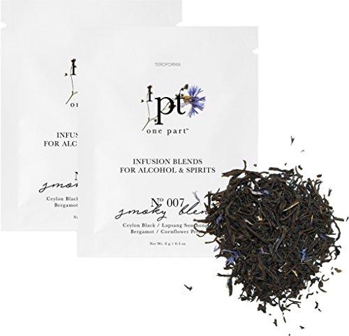 Smoked Scotch Single Malt (Teroforma 1pt SMOKY Infusion Blend for Alcohol & Spirits – Flavor Infuser Packets for Home Infusion (Single Pack, 2 Packets))
