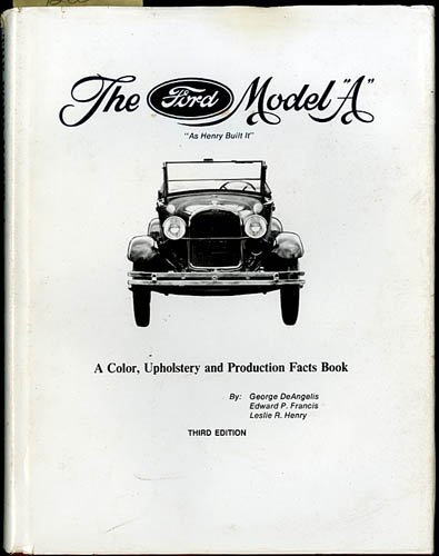 Model Ford Upholstery - The Ford Model