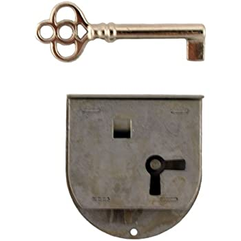 L 20r Rounded Half Mortise Right Lock Amp Skeleton Key