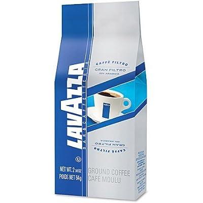 Lavazza Whole Bean Coffee, Gran Filtro Arabica Blend, Italian Light Roast Coffee, 2.2-Pound Bag
