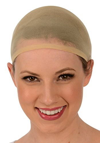 Kangaroo's Fashion Costume Wig Cap, Color Choice (Package of 2) - Halloween Wigs