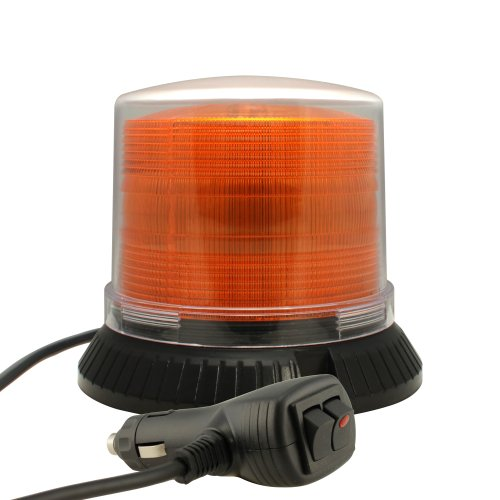 High-Intensity-12W-LED-Emergency-Vehicle-Beacon-Warning-Light-OTHER-COLOR-AVAILABLE