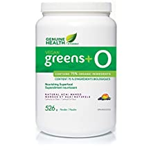 greens+ O Organic Vegan Acai Mango Flavour (528g) (greens plus o) Brand: Genuine Health