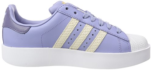 Chalk Shoes Footwear White adidas Blue Superstar Blue Indigo Women's W Running 0 Raw Bold HZpWP0