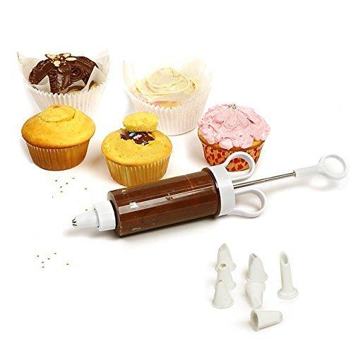 Norpro 3566 Cupcake Injector Decorating Set, 9-Piece