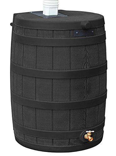Good Ideas RW40-BLK Rain Wizard Rain Barrel 40-Gallon, Black ()