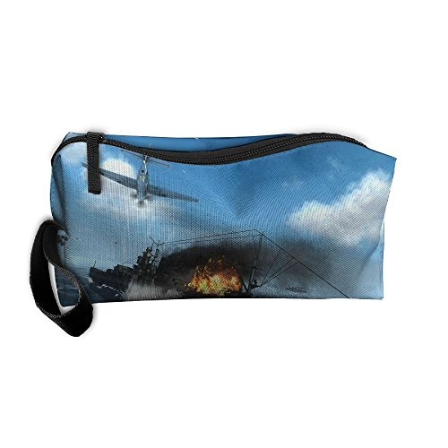 Portable Travel Storage Bags Fighter Clutch Wallets Pouch Coin Purse Zipper Holder Pencil Bag,kits Medicine And Makeup Bags]()