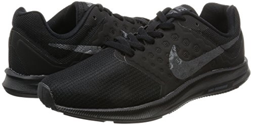 045d9b476f83 Nike Women s Nike Downshifter 7 Running Shoe - Couleurs   Black Mtlc  Hematite-Anthracite
