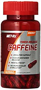 MET-Rx Timed-Release Caffeine Dietary Supplement, 60 Count