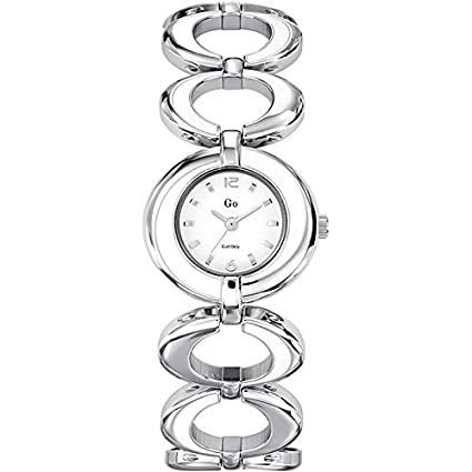 GO, Girl Only Glamour Analogue White Dial Women's Watch - 694987