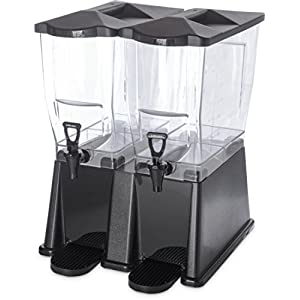 Carlisle 1085103 TrimLine Clear Premium Double Base, 7 gal. Capacity, Black