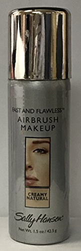 Sally Hansen Fast & Flawless Airbrush makeup Creamy Natural 1.5 oz/42.5 g