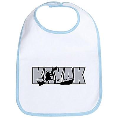 CafePress - Kayak Bib - Cute Cloth Baby Bib, Toddler Bib