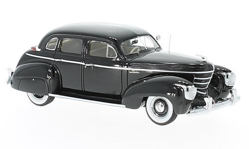 Graham 97 Supercharger Four Door Sedan, black, 1939, Model Car, Ready-made, Neo 1:43 - Neo Scale Models