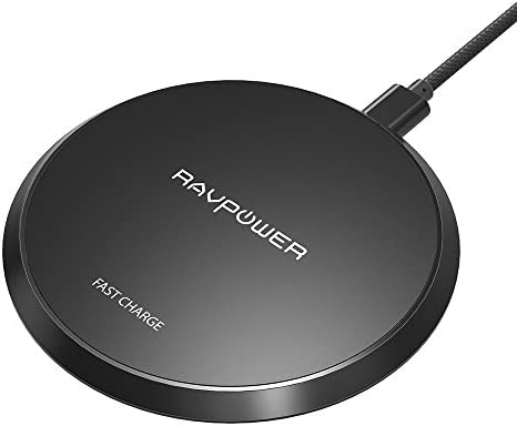 Wireless Charger RAVPower Qi Certified 10W Fast Wireless Charging Pad for Galaxy S9+ S9 Note 8, Compatible iPhone X 8 Plus 8 and All Qi-Enabled Phones (NO Adapter) - 10165748 , B0787WXCVF , 285_B0787WXCVF , 595913 , Wireless-Charger-RAVPower-Qi-Certified-10W-Fast-Wireless-Charging-Pad-for-Galaxy-S9-S9-Note-8-Compatible-iPhone-X-8-Plus-8-and-All-Qi-Enabled-Phones-NO-Adapter-285_B0787WXCVF , fado.vn , Wireless Charger R