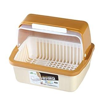 Amazon.com: NFYOI - Escurreplatos de cocina con cubierta de ...
